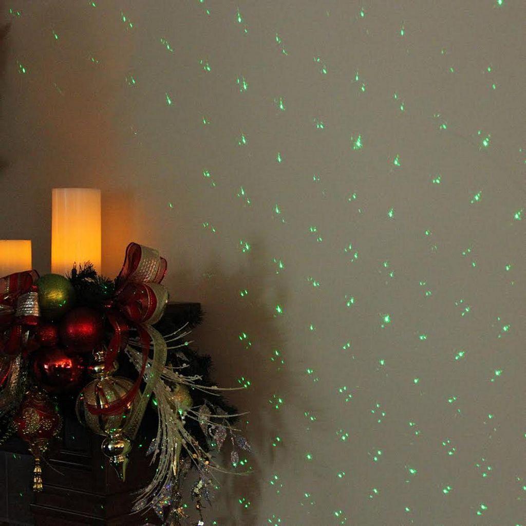 Northlight Falling Stars Christmas Projector Light & Stand 3-piece Set