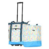 Olympia Insulated 2 pc Shopper Tote Set