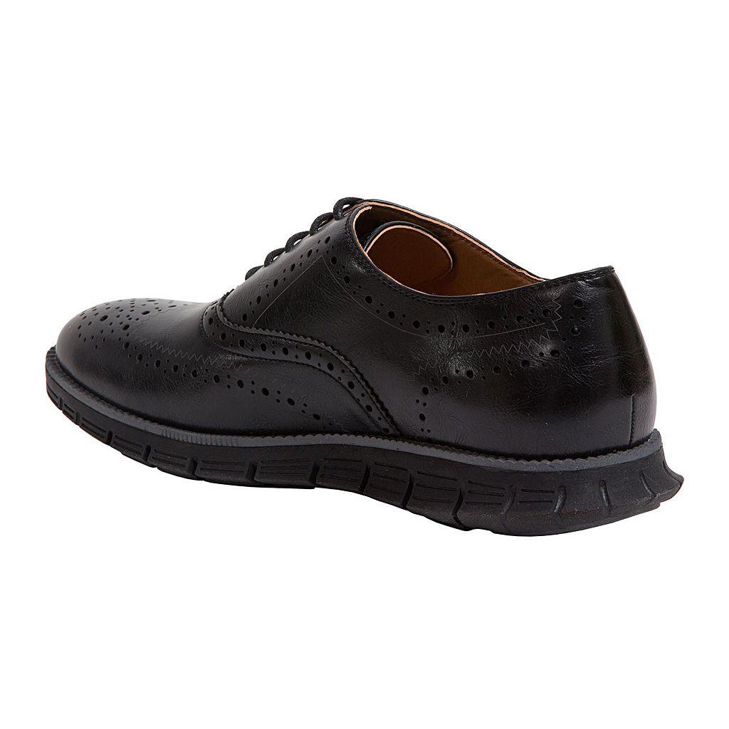 Deer Stags Benton Men's Wingtip Dress Shoes