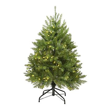 Northlight 4-ft. Pre-Lit Northern Pine Artificial Christmas Tree