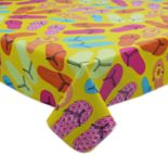 Celebrate Summer Together Vinyl Flip-Flop Tablecloth