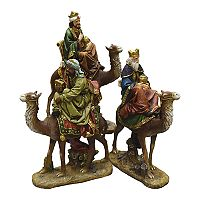 Northlight Three Kings Christmas Decor 3 pc Set