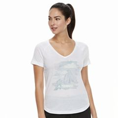 Women's adidas Outdoor Mountain Graphic Tee