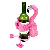 Celebrate Summer Together Flamingo Wine Bottle Cover