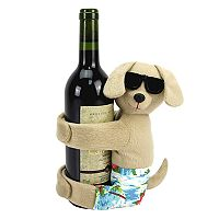 Celebrate Summer Together Dog Wine Bottle Hugger