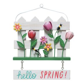 """Celebrate Easter Together """"Hello Spring!"""" Wall Decor"""