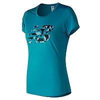 Women's New Balance Accelerate Printed Short Sleeve Tee