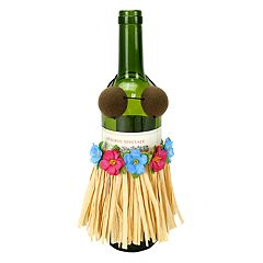 Celebrate Summer Together Hula Gal Wine Bottle Cover