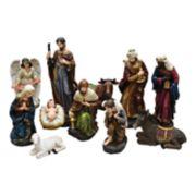 Northlight Nativity Scene Christmas Decor 11-piece Set
