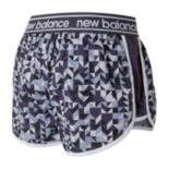 "Women's New Balance Accelerate Printed 2.5"" Running Shorts"