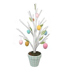 Celebrate Easter Together Artificial Egg Tree Table Decor