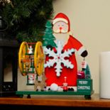 Northlight Musical Santa Table Christmas Decor