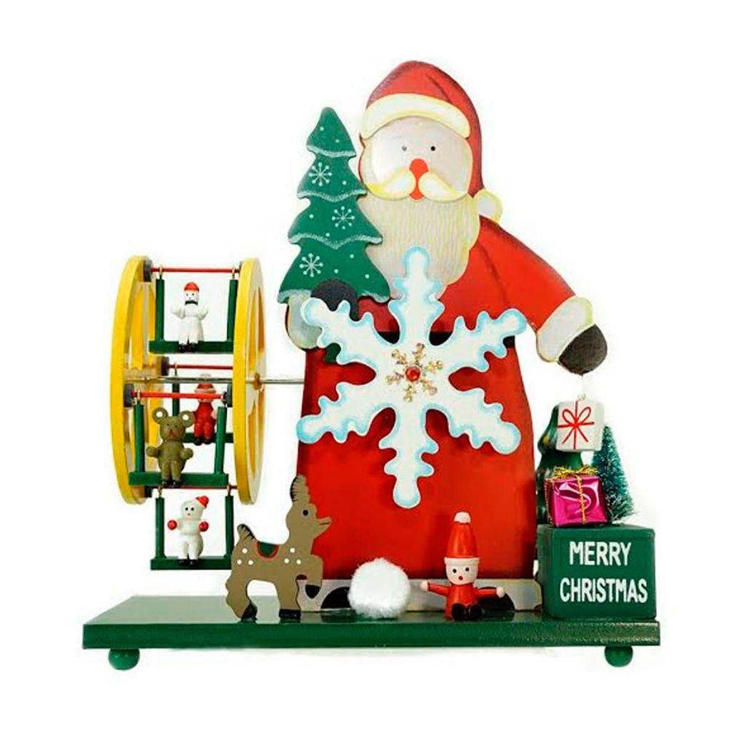 Northlight Musical Santa Table Christmas Decor