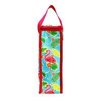 Celebrate Summer Together Thermal Flamingo Wine Bag
