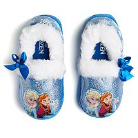Disney's Frozen Anna & Elsa Toddler Girls' Slippers