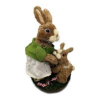 Celebrate Easter Together Sisal Bunny Family Table Decor