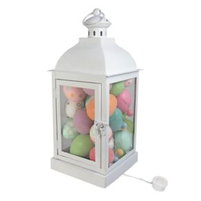 Celebrate Easter Together Light-Up Lantern Table Decor