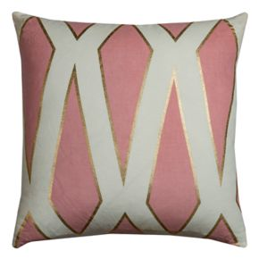 Rizzy Home Rachel Kate Geometric Throw Pillow