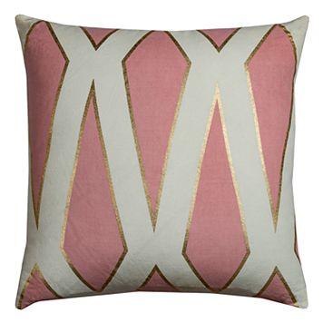 Rizzy Home Rachel Kate Geometric Throw Pillow