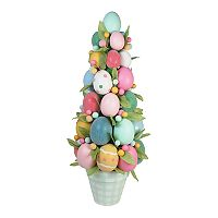 Celebrate Easter Together Artificial Egg Topiary Indoor Decor