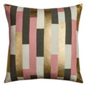 Rizzy Home Rachel Kate Geometric Stripe Throw Pillow