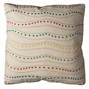 Rizzy Home Dotted Swirl Throw Pillow