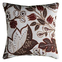Rizzy Home Flourish Throw Pillow