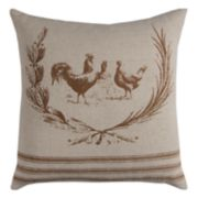 Rizzy Home Chicken Throw Pillow