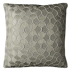 Rizzy Home Abstract Scales Throw Pillow