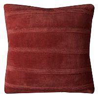 Rizzy Home Pintuck Stripes Throw Pillow