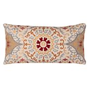 Rizzy Home Medallion Oblong Throw Pillow