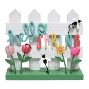 """Celebrate Easter Together """"Hello Spring"""" Table Decor"""