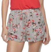 Juniors' Joe B Print Soft Shorts