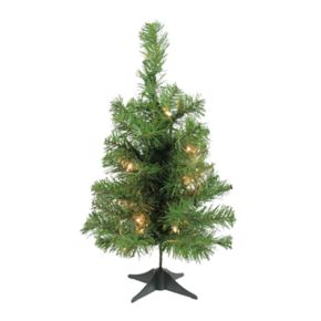 Northlight 18-in. Pre-Lit Noble Fir Artificial Christmas Tree