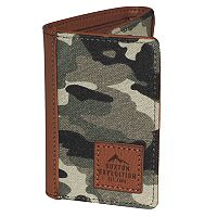 Buxton Expedition II Huntington Gear RFID Three-Fold Wallet