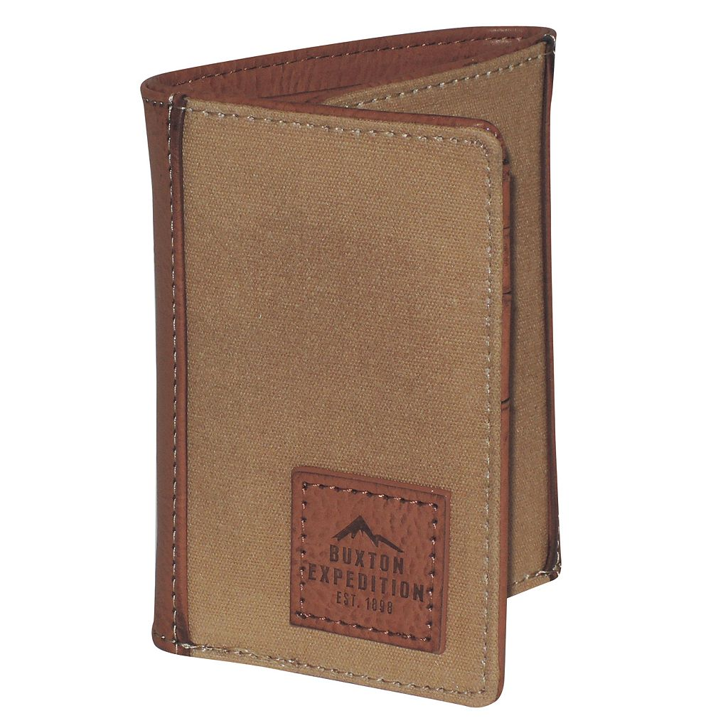 Buxton Expedition II Huntington Gear RFID Three-Fold Wallet