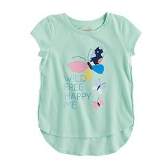 Toddler Girl Jumping Beans® Tulip Hem Graphic Tee