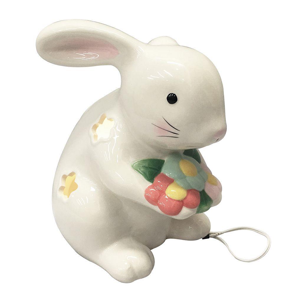 Celebrate Easter Together Light-Up Bunny Table Decor