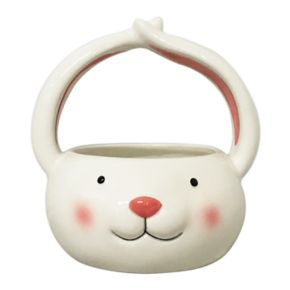 Celebrate Easter Together Decorative Bunny Bowl Table Decor