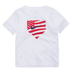 Toddler Boy Nike Americana Home Plate Baseball Tee