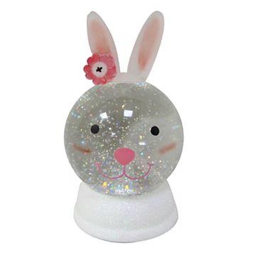 Celebrate Easter Together Light-Up Shimmer Bunny Table Decor