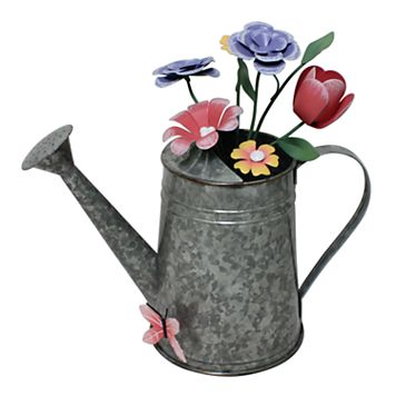 Celebrate Easter Together Decorative Watering Can Table Decor