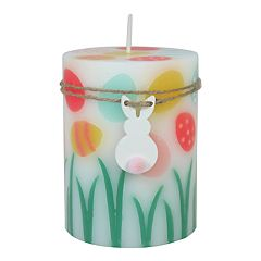 Celebrate Easter Together Peach Fizz 3' x 4' Pillar Candle