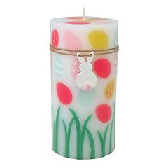 Celebrate Easter Together Peach Fizz 3' x 6' Pillar Candle