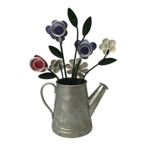 Celebrate Easter Together Floral Watering Can Photo Clip