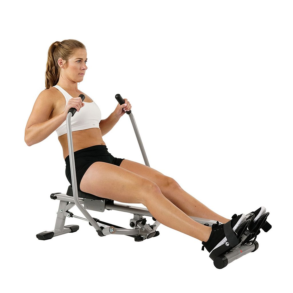 Sunny Health & Fitness Full Motion Rowing Machine