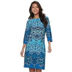 Women's Suite 7 Printed Shift  Dress