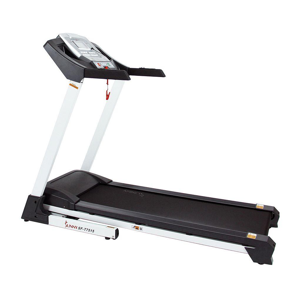 Sunny Health & Fitness Smart Bluetooth Incline Treadmill