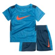 Toddler Boy Nike Legacy Logo Tee & Shorts Set