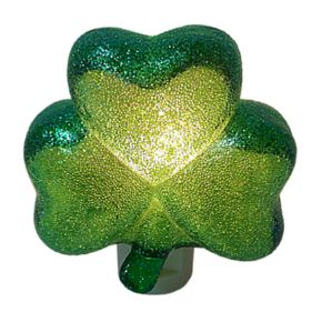 Celebrate St. Patrick's Day Together Shamrock Nightlight